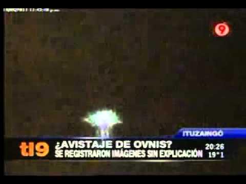 Impresionante OVNI captado por cmara de seguridad