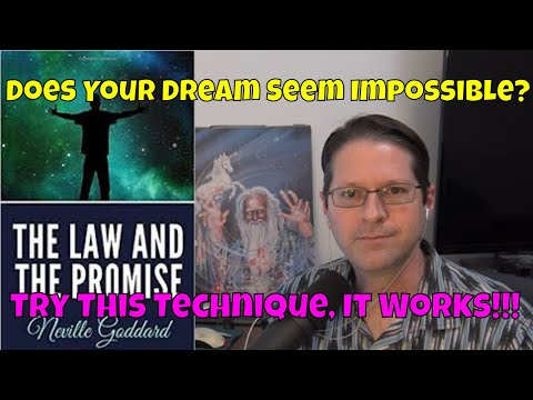 'Isn't It Wonderful' Technique - Neville Goddard