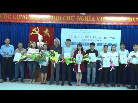 Quảng Nam trao giải thưởng cuộc thi báo chí