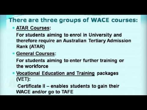 Understanding WACE