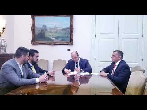 Governador assina autorização para a convocação de novos policiais civis