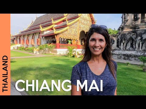 THAILAND: Chiang Mai Old City - Best things to do | day and night 🌞🌛