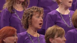 "The Mormon Tabernacle Choir sings, ""Lead, Kindly Light."""