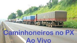 """Video Caminhoneiros no PX Ao Vivo (app Zello) - Canal """"Front Brasil Caminhoneiros"""" MP3, 3GP, MP4, WEBM, AVI, FLV Juni 2018"""