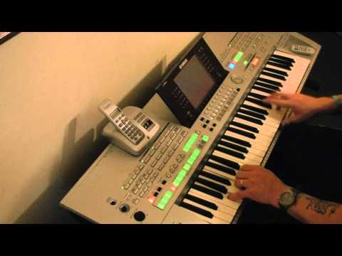 Yamaha Tyros - If I Could Turn Back Time- HD