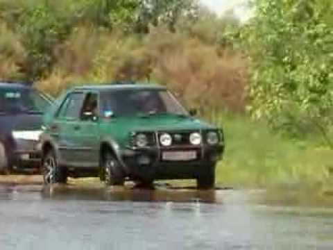 VW golf country, поездка на