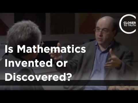 is math discovered or invented Mathematics describes the real world of atoms and acorns, stars and stairs, with remarkable precision so is mathematics invented by humans-like chisels and hammers.