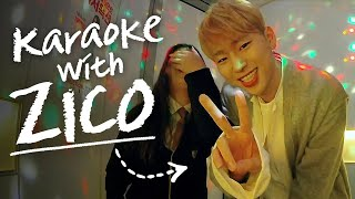 Zico Attacked His Fan [Karaoke Attack]  • ENG SUB • dingo kdrama
