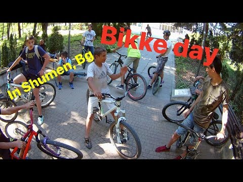 Bike Day In Shumen, Bulgaria