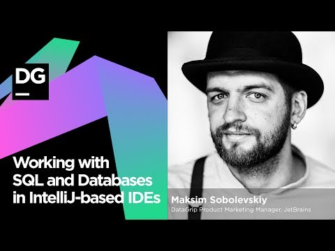 Working with SQL and Databases in IntelliJ based IDEs