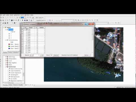 supervised - Here I show an example how to run a supervised raster classification in arcmap (ArcGIS 9.2) to classify an image in three simple habitat types. Tools used ar...