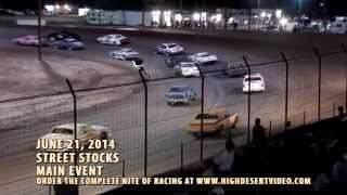 Best USRA Street Stock Race for 2014 (so far)!