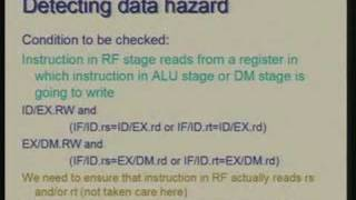 Lecture - 26 Pipelined Processor Design: Handling Data