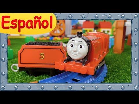 Dibujos de amor - James la locomotora #5  La historia del Tender perdido  Ocurrirán accidentes  Thomas y sus Amigos