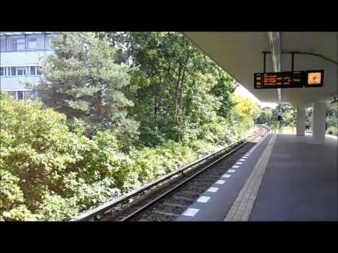 U-Bahn Berlin - U-Bahnhof Holzhauser Straße U6