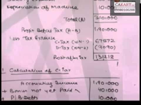 CA Final FR and AS lecture by Parveen sharma on Accounting standards 22(part-2)