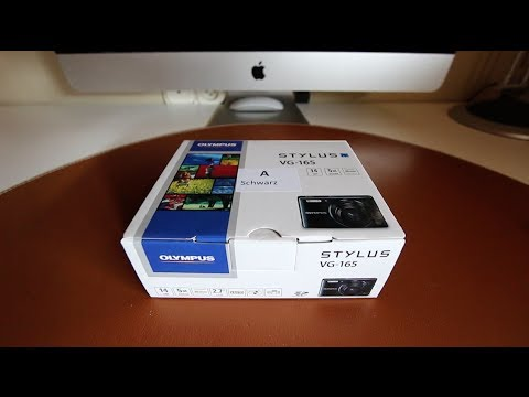Olympus VG-165 - Unboxing