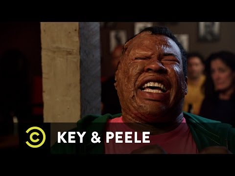 Key - An insult comic tries to make fun of a severely burnt audience member without being insensitive. New episodes Wednesdays 10:30/9:30c on Comedy Central.