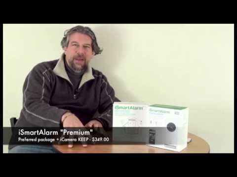 iSmartAlarm Home Security System Review