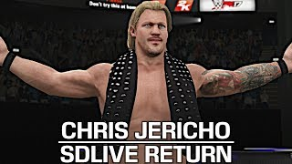 I showcase the Chris Jericho SmackDown Live Return Mod by JulianBITW! Show some love by leaving a like, sharing and subscribing for more awesome videos like these!OUTRO MUSIC: Undertaker's Rollin Theme Cover by JAYDEGARROWJAYDEGARROW's YouTube: https://www.youtube.com/channel/UCit4zHRRYaU5Og8ZHqvA7jQFOLLOW ME HERE:Facebook: https://www.facebook.com/julian.rosado.14Twitter: https://twitter.com/Jules1451Instagram: https://www.instagram.com/jules1451/Snapchat: @Jules1451Want to see more WWE 2K16 & WWE 2K17 Content? Visit this link for more! http://www.thesmackdownhotel.com