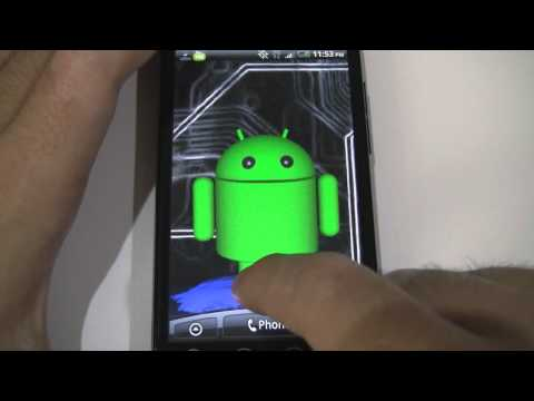 Video of Droid Guy Live Wallpaper