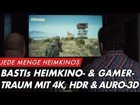 Sebastians Heimkino- & Gamer-Traum mit 4K-HDR-Laserbeamer und Auro-3D Setup    GROBI.TV