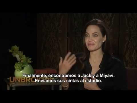 Video INVENCIBLE (UNBROKEN) - Entrevista a Angelina Jolie download in MP3, 3GP, MP4, WEBM, AVI, FLV February 2017