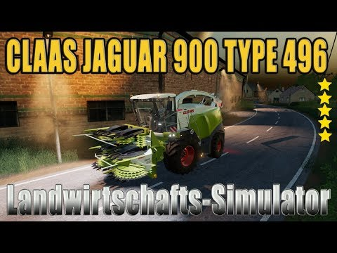 Claas Jaguar 900 Type 496 v1.0.0.0