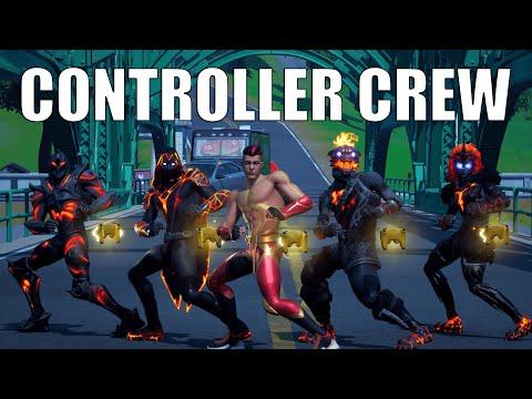 Fortnite - Controller Crew (Official Fortnite Music Video) | THEGREFG SKIN | @TheGrefg