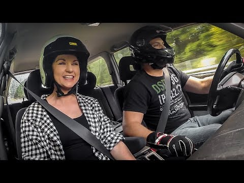 My Girlfriend's First Ever Lap on the Nürburgring Nordschleife!