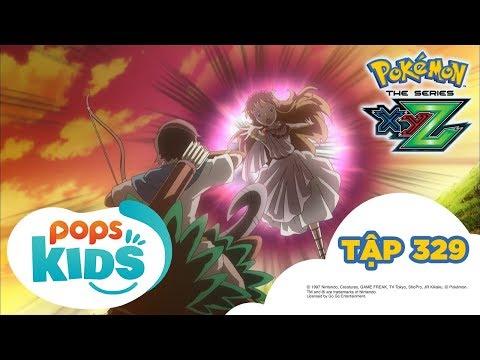 Pokémon Tập 329 - Truyền thuyết về XYZ - Hoạt Hình Pokémon Tiếng Việt S19 XYZ - Thời lượng: 21:33.