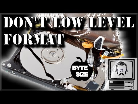 Why you Shouldn't Low Level Format Your Hard Drive | Nostalgia Nerd