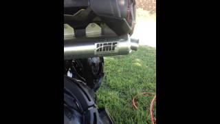 6. 2016 Cam-am 650 X MR HMF exhaust