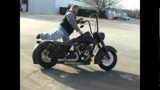 10. 2010 Harley Davidson Road King, Custom, Hot Rod Black pt.3