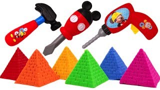 Video Kinetic Sand Ice Cream Surprise Toys Disney Mickey Tool Set Peppa Pig Learn Colors MP3, 3GP, MP4, WEBM, AVI, FLV Mei 2017