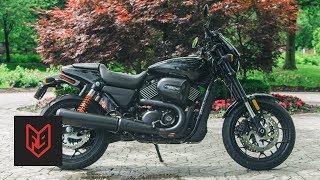 6. Harley Davidson Street Rod Review at fortnine.ca