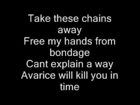 Avarice Disturbed Lyrics  Audio