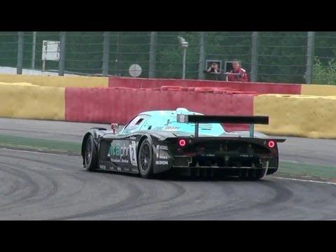 maserati mc12 gt1 - prestazioni in pista