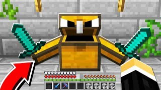 the MOST PROTECTED Minecraft Chest.. on the server