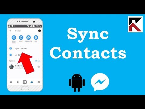 How To Sync Contacts To Facebook Messenger Android 2018