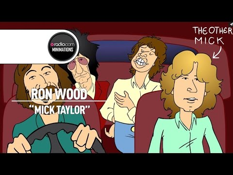Ron Wood Recalls Mick Taylor Quitting the Rolling Stones (Radio.com Minimation)