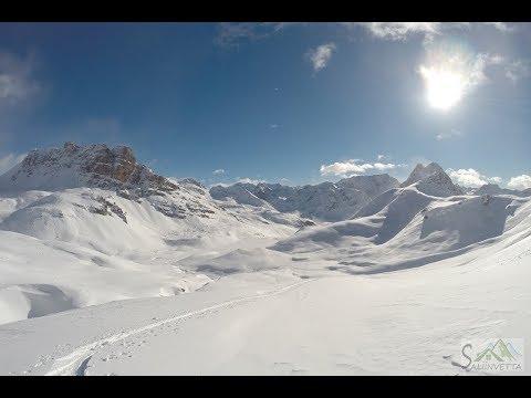 Piz Campagnung dallo Julierpass, Scialpinismo in Svizzera Engadina (8/12/18)