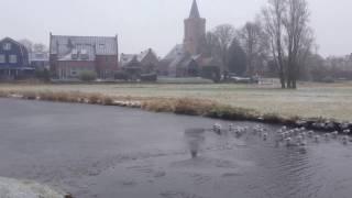 Winter in Spakenburg