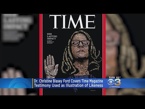 Dr. Christine Blasey Ford Illustrated On Time Magazine's Latest Cover
