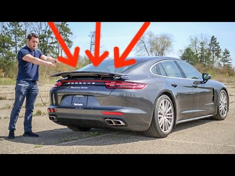5 CRAZY Features of the '17 Porsche Panamera Turbo! (видео)