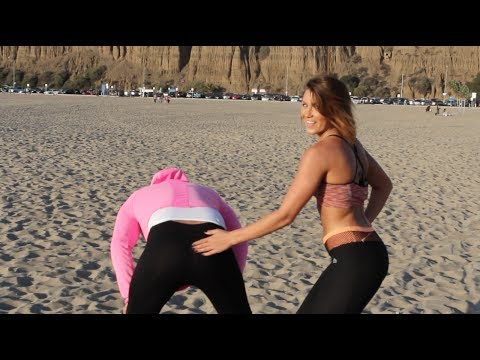 YOGA PANTS PRANK 2!