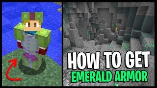 How To Get EMERALD ARMOR In Hypixel Skyblock... *EASY TIPS & TRICKS!!*