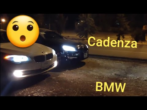 Bmw 530i 3,0 vs  Kia Cadenza 3,5