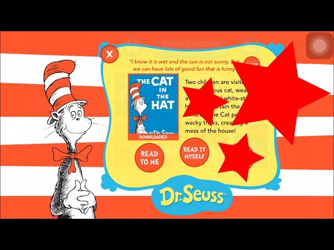 the cat in the hat comes back by dr seuss ios kids read learn and