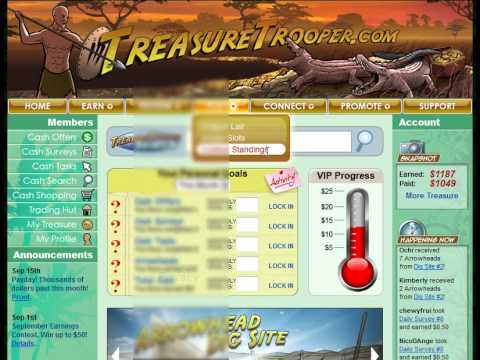 How To Make Money Online From Home With Treasure Trooper
